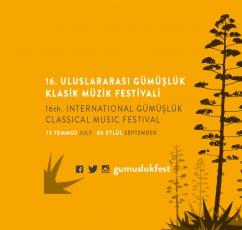 16. İnternational Gümüşlük Classical Music Festival 2019 programme has been announced!