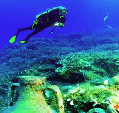 Scuba Diving in Bodrum