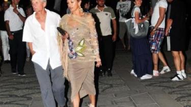 Catherine Zeta-Jones and Michael Douglas were spotted walking the streets of Bodrum
